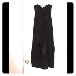 Loft embellished neckline casual dress